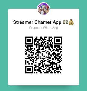 Grupo WhatsApp Chamet App Streamer