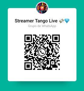 Grupo de WhhatsApp Tango Live